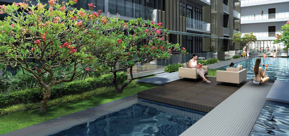 Sublime style and luscious surrounds at King Albert Park Residences (Artist Impression only)